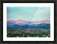 Landscape After A Rain Picture Frame print