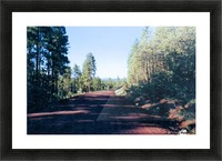 A Road Through Picture Frame print