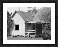 Old Miners Shack Picture Frame print