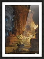 Scheherazade and the Sultan Picture Frame print