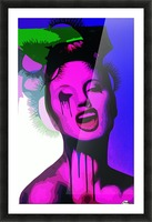 TheJoker Picture Frame print