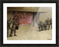 SWAT Picture Frame print