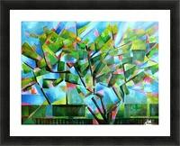 Cubistic Spring at Voorburg - 05-05-16 Picture Frame print