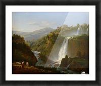 Waterfall near Tivoli Picture Frame print