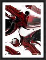 Expression and Creation Picture Frame print