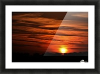 Sunrise in Cairo Picture Frame print