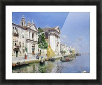 The Zattera and Church of the Jesuate, Venice Picture Frame print