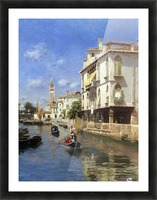 Canale della Guerra, Venice Picture Frame print