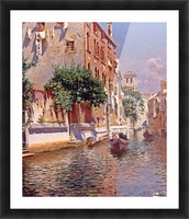 St Apostoli Canal, Venice Picture Frame print