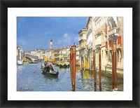 The Grand Canal in Venice Picture Frame print