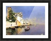 Entering a Venetian Canal Impression et Cadre photo