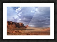 Monument valley 3 Picture Frame print