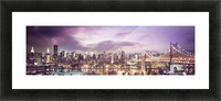 New York Cityscape Picture Frame print