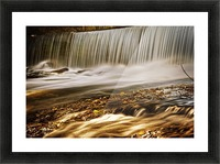 Waterfall Picture Frame print