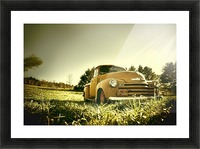 Old Car Picture Frame print