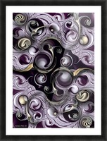 Hedonic Energy Picture Frame print