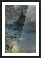 Townscape Picture Frame print