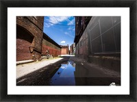 Alley Reflections Picture Frame print