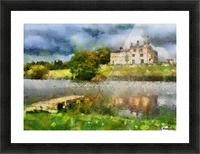 RIPLEY CASTLE 2 Picture Frame print