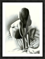 Nude - 03-06-16 Picture Frame print