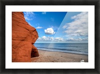 Magdalen Island Picture Frame print