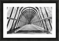 Parisienne Walkway Picture Frame print