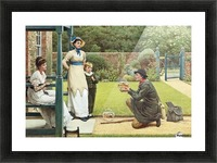 The Goldfish Seller Picture Frame print
