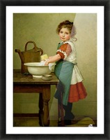 Washing Day Picture Frame print