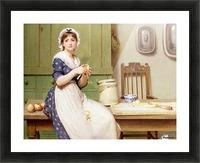Apple Dumplings Picture Frame print