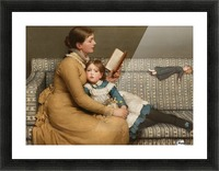 Alice in Wonderland Picture Frame print