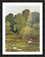 Riverside, Wallingford, Berkshire Picture Frame print