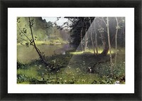 Forest river Picture Frame print