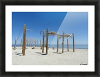 Lost Picture Frame print