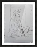 darvesh Picture Frame print