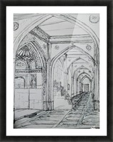 shajaani mosque Picture Frame print