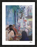sola siddi[sixteen steps] Picture Frame print
