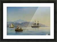 Bay of Palermo, Sicily Picture Frame print