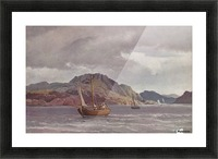 The archipelago of Marstrand - 1852 Picture Frame print