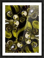 Movement and Poetry Picture Frame print