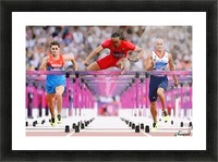 Athletics_58 Picture Frame print