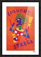 Strega Alberti Benevento poster Picture Frame print