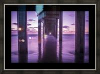 Infinite Loop Picture Frame print