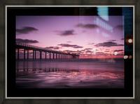 LaJolla Bridge Picture Frame print