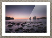 Carmel Sunset Picture Frame print
