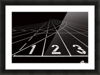 123 Picture Frame print