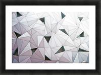 triangulation 1 Picture Frame print