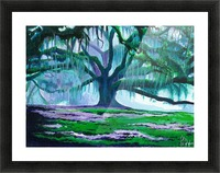Old Oak Picture Frame print