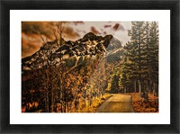 Rocky Mountain Way Picture Frame print