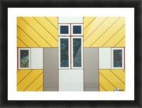 Facade Picture Frame print