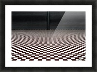 the hypnotic floor Picture Frame print